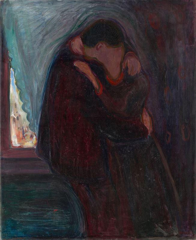 Öpücük, 1897 resmi