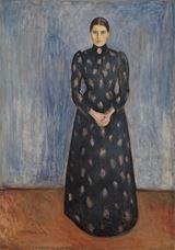 Sanatçının Kız Kardeşi Inger, 1892