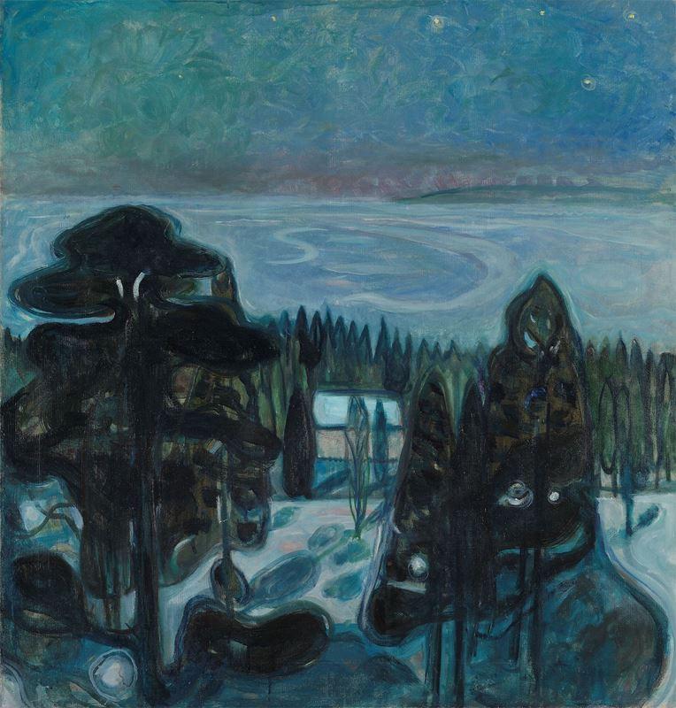 Beyaz Gece, 1900-1901 resmi