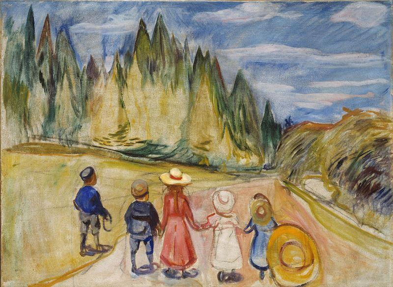 Peri Masalı Ormanı, 1901-1902 resmi