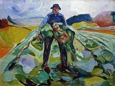 Show Man in the Cabbage Field, 1916 details