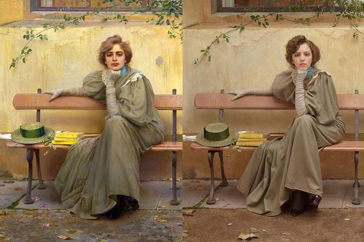 Rüyalar, Vittorio Corcos, 1896 picture