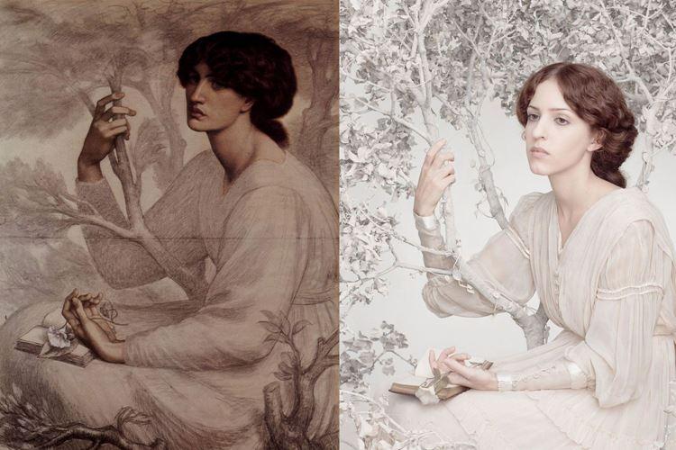 Günün Rüyası, Dante Gabriel Rossetti, 1880 picture