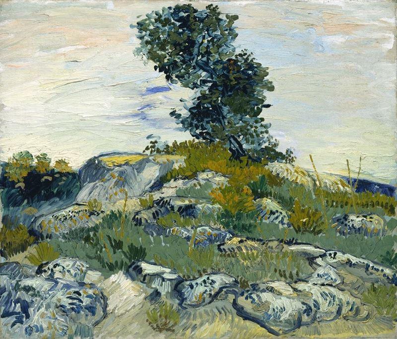 Kayalar, 1888 resmi