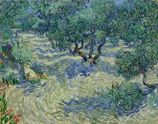 Show Olive Trees, 1889 details