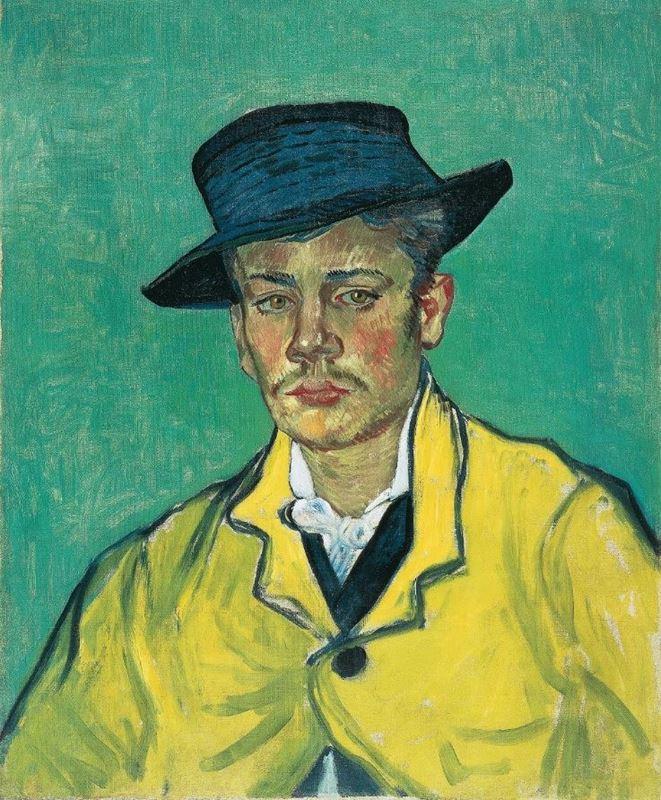 Armand Roulin'in Portresi, 1888 resmi