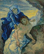 Show Pietà (after Delacroix), 1889 details
