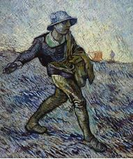 Show The Sower (after Millet), 1890 details