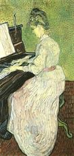 Show Marguerite Gachet at the Piano, 1890 details