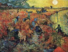 Kırmızı Üzüm Bağı, 1888