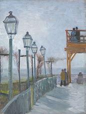 Belvedere'den Montmartre'a Bakış, 1887