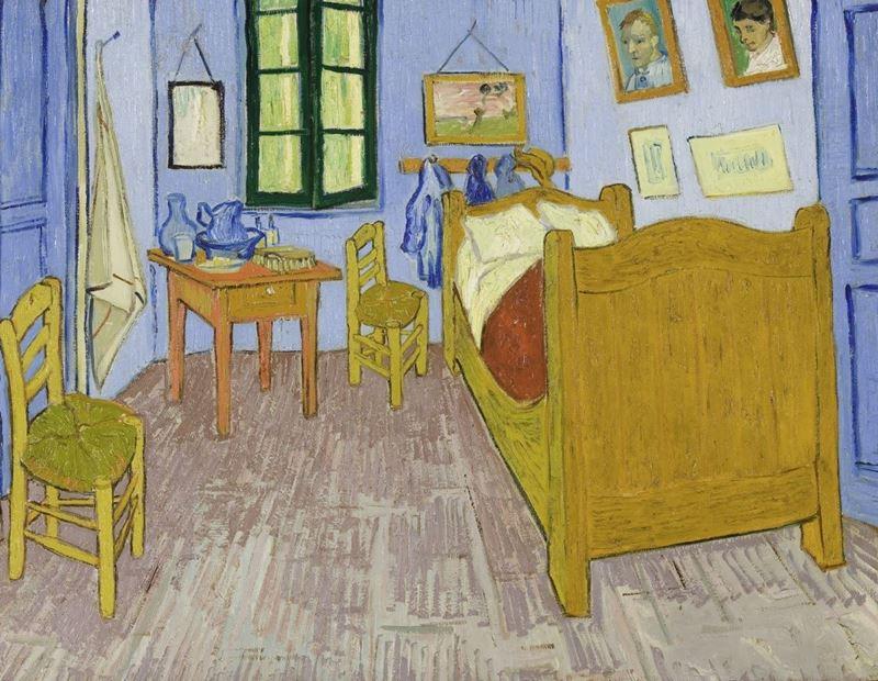 Van Gogh'un Arles'daki Yatak Odası, 1889 resmi