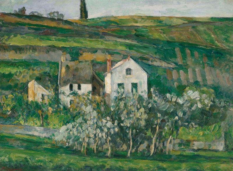 Pontoise'deki Küçük Evler, 1873-1874 dolayları resmi