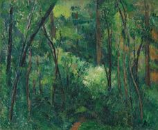 Show Interior of a Forest, c. 1885 details