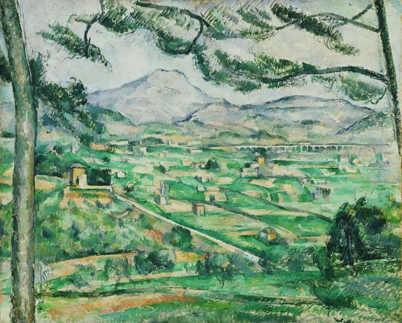 Picture for Mont Sainte-Victoire, 1886-1887