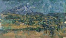 Show Mont Sainte-Victoire, c. 1902-1906 details