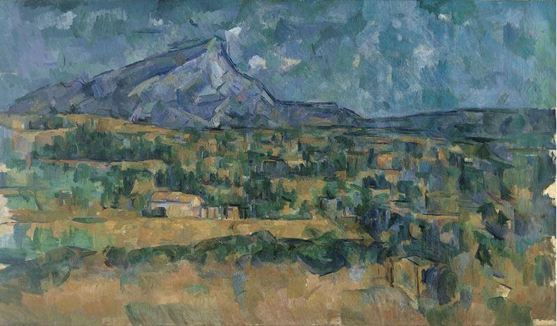 Sainte-Victoire Dağı, 1902-1906 dolayları resmi