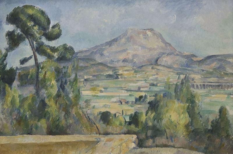 Sainte-Victoire Dağı, 1890 resmi