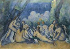 Show The Large Bathers, 1894-1905 details