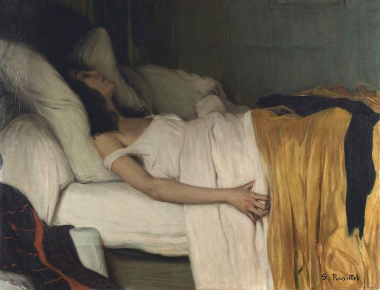 Morfin, Santiago Rusiñol, 1894 picture