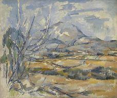Show Mont Sainte-Victoire, 1890-1895 details