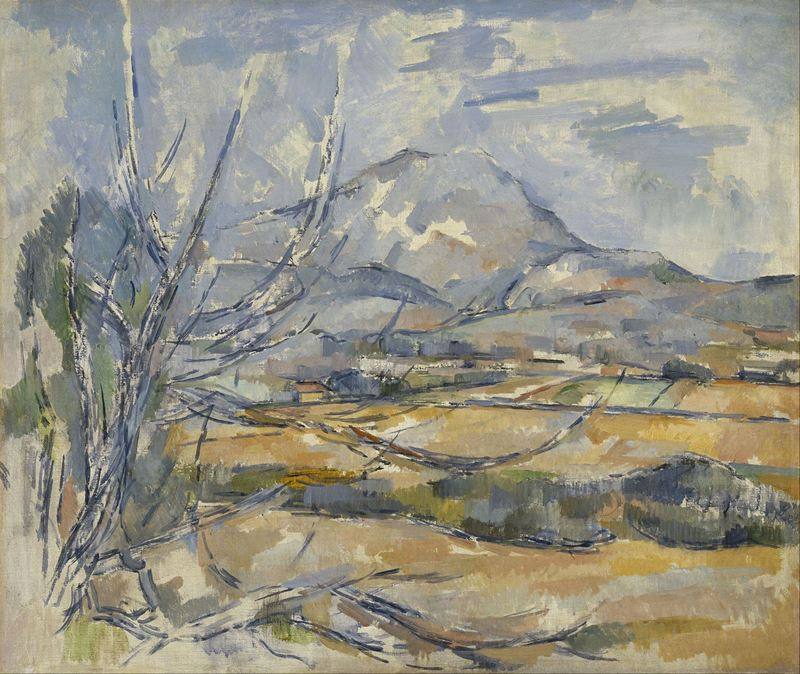 Picture for Mont Sainte-Victoire, 1890-1895