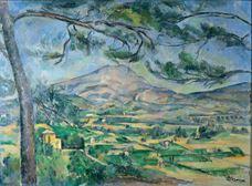 Sainte-Victoire Dağı ve Büyük Çam Ağacı, 1887 dolayları
