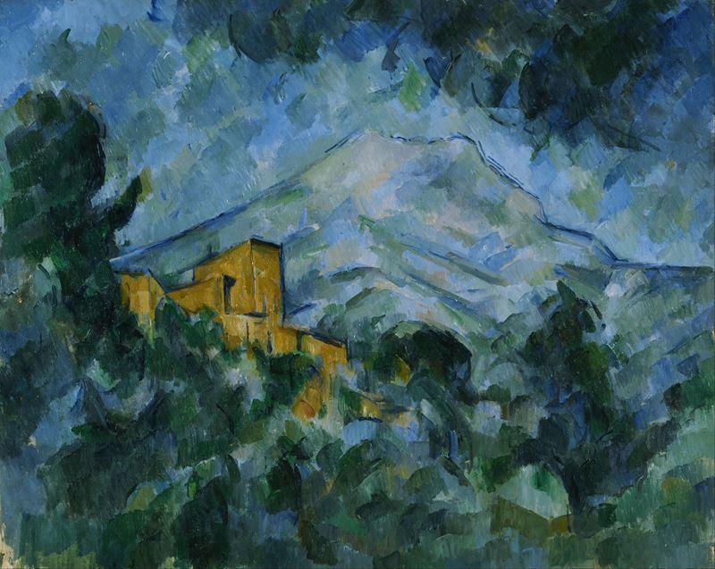 Picture for Mont Sainte-Victoire and Château Noir, 1904-1906