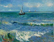 Saintes-Maries-de-la-Mer Yakınında Deniz Manzarası, 1888