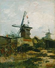 Show Windmills on Montmartre, 1886 details