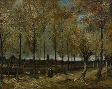 Show Poplars near Nuenen, 1885 details