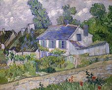 Show Houses at Auvers, 1890 details