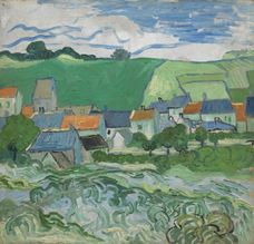 Show View of Auvers, 1890 details