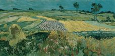 Show The Plain of Auvers, 1890 details