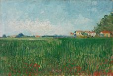 Show Field with Poppies, 1888 details
