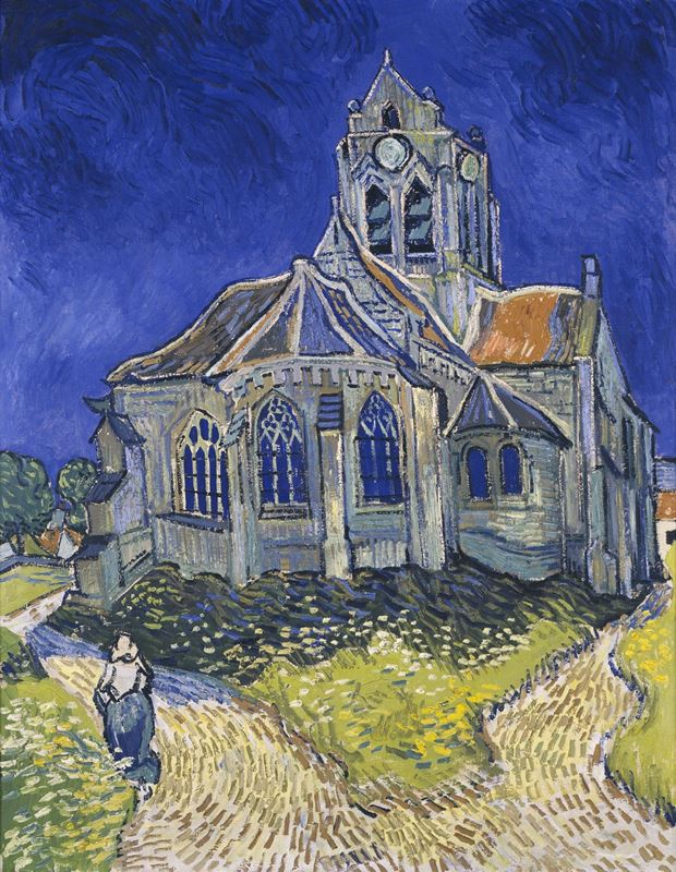 Picture for The Church at Auvers, 1890