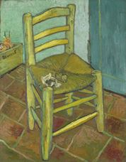 Show Van Gogh's Chair, 1888 details