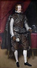 Show Philip IV of Spain in Brown and Silver, c. 1631-1632 details