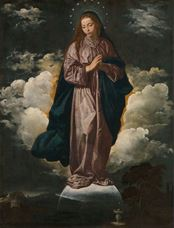Show The Immaculate Conception, 1618-1619 details