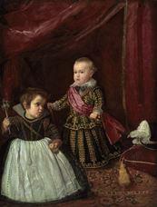 Prens Baltasar Carlos ve Cüce, 1632