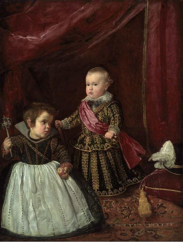 Prens Baltasar Carlos ve Cüce, 1632 resmi