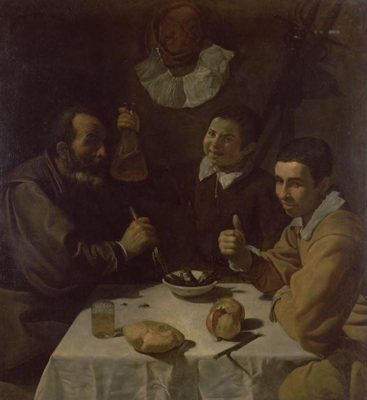 Öğle Yemeği, 1617 dolayları resmi