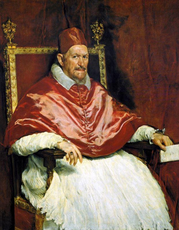 Papa X. Innocentius'un Portresi, 1650 dolayları resmi
