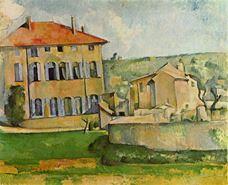 Jas de Bouffan'daki ev ve çiftlik, 1885-1887