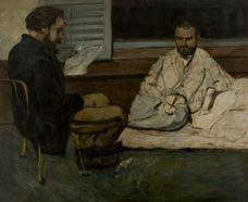 Paul Alexis, Emile Zola'ya Kitap Okuyor