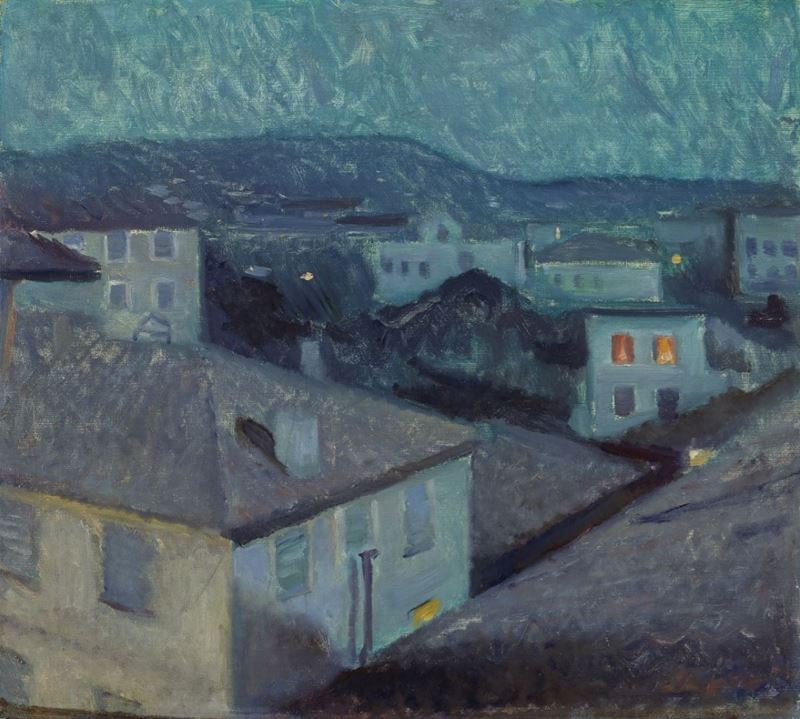 Nice'de Gece, 1891 resmi
