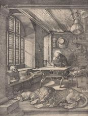 Show Saint Jerome in His Study, 1514 details