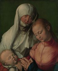 Show Virgin and Child with Saint Anne, c. 1519 details
