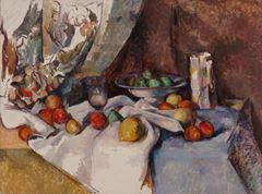 Elmalı Natürmort, 1895-1898, Tuval üzerine yağlıboya, 68.6 x 92.7 cm, Museum of Modern Art, New York, ABD.