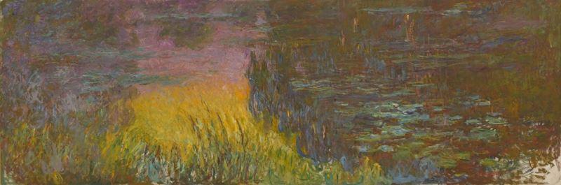Nilüferler, Akşam Güneşi, 1915-1926 dolayları resmi